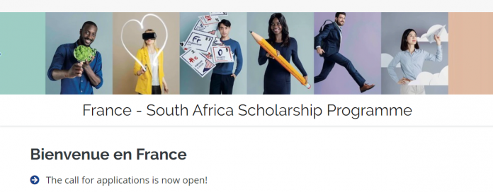 France - South Africa Scholarship Programme 20202021