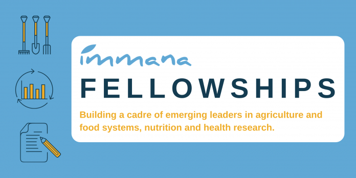 IMMANA Fellowships for emerging leaders in agriculture, nutrition, and health research 2021