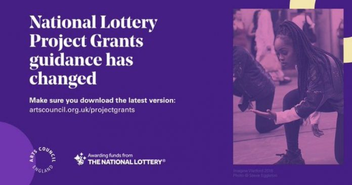 2021 Arts Council National Lottery Project Grants Application