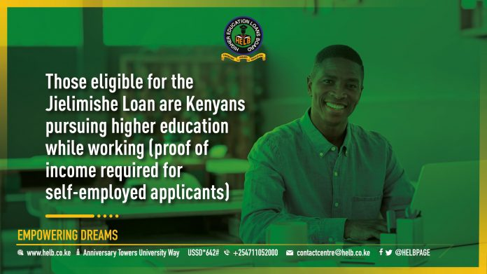 HELB Jielimishe Loan for Kenya Students 2021