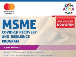 Kenya Covid-19 Resilience and Recovery Program 2020-2021