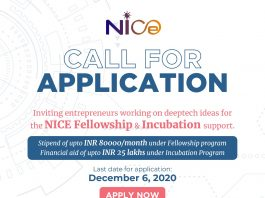 NMDC Innovation and Incubation Centre (NICE) Support