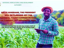 President Buhari to Flag off the National Young Farmers Scheme