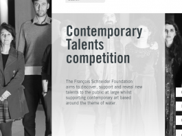 François Schneider Foundation Contemporary Talents Competition 2020