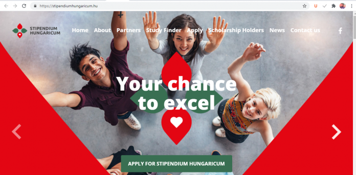 Hungarian Government 2021/2022 Stipendium Hungaricum Scholarship Programme