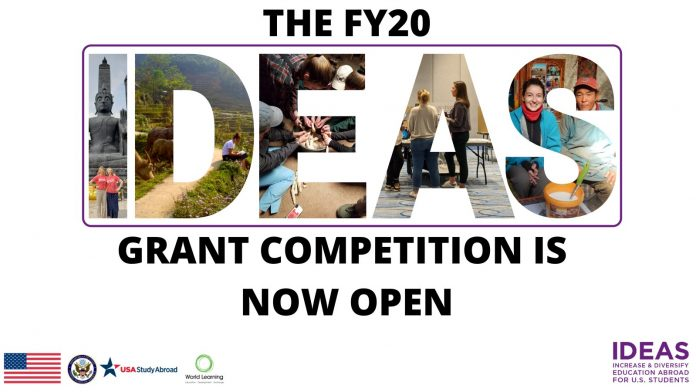 THE FY20 IDEAS GRANT COMPETITION