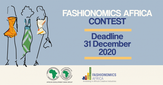 FASHIONOMICS AFRICA CONTEST 2020 FOR AFRICA FASHION BRANDS