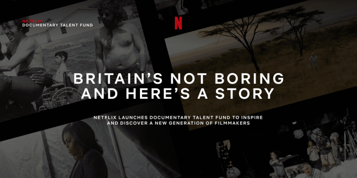 Netflix Documentary Talent Fund for next generational Film Makers