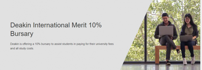 Deakin International Merit 10% Bursary 2021