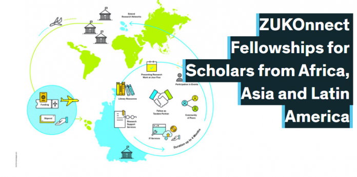 ZUKOnnect Fellowships 2021 for Early Career Researchers from Africa, Asia and Latin America