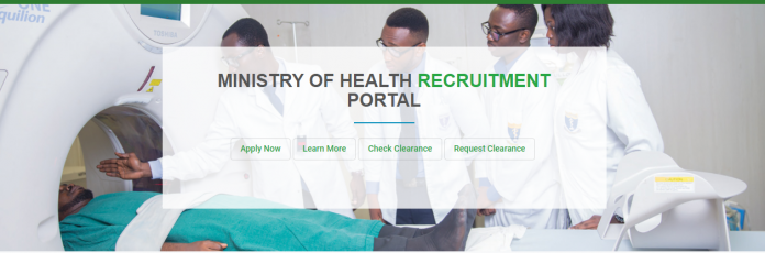 Ghana Ministry Of Health Recruitment 2020 of Medical Doctors