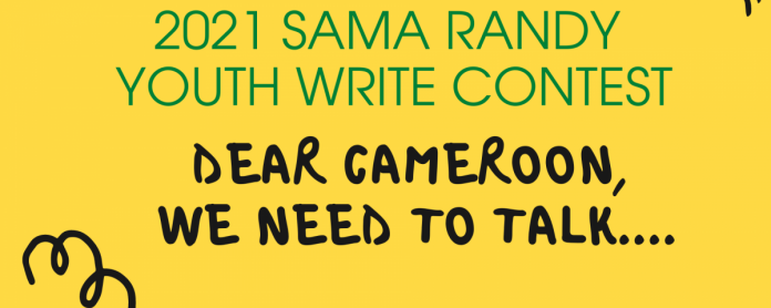 THE 2021 SAMA RANDY YOUTH WRITE CONTEST CAMEROONIANS