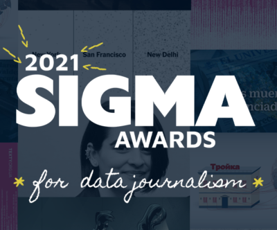 The 2021 Sigma Awards for Data Journalists worldwide