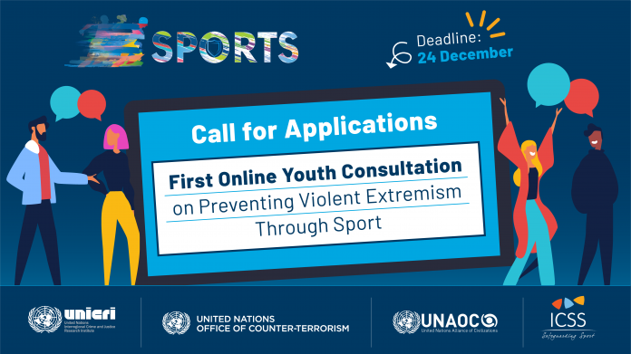 UNAOC 2021 First Online Youth Consultation on Preventing Violent Extremism Through Sport