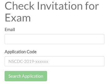 Check Your NSCDC and NIS CBT Exams Invitation Letter 2020